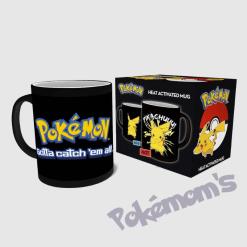 Tasse Pikachu thermique - Pokemom